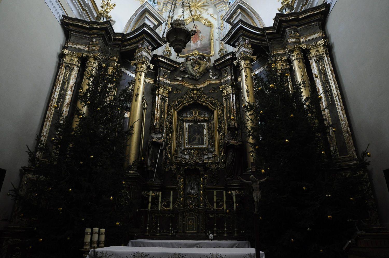 Ołtarz kościół w Rymanowie