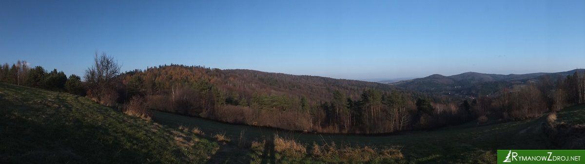 Panorama z Przymiarek