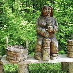 Figura z drewna Wołtuszowa