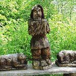 Drewniane rzeźby Wołtuszowa