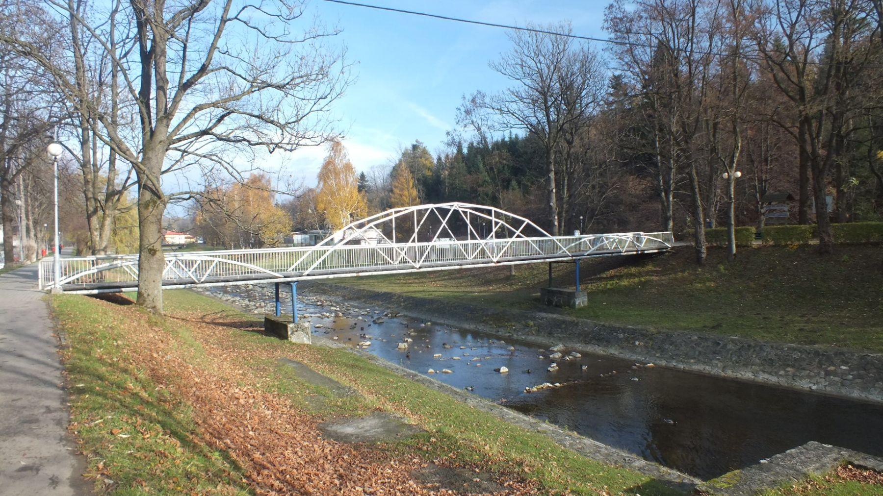 Most na rzece Tabor Rymanów Zdrój